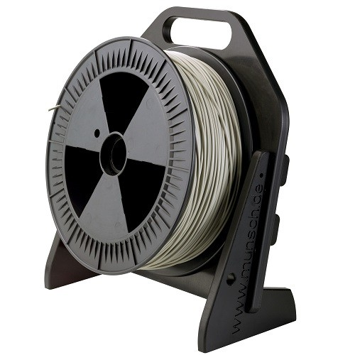 Welding rod dispenser, single roll
